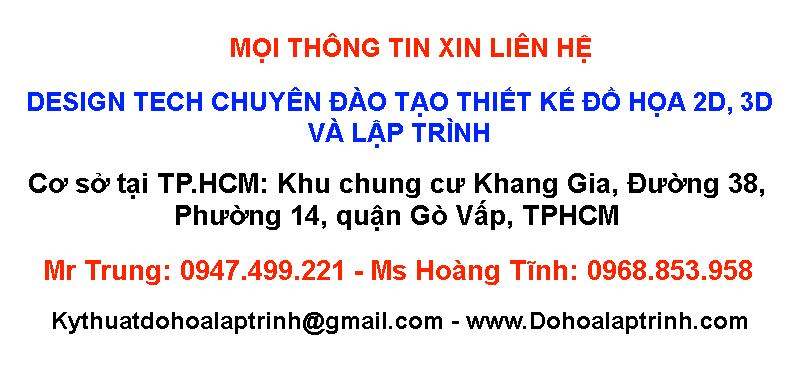 Khóa học thiết kế đồ họa tại Tân Phú tphcm