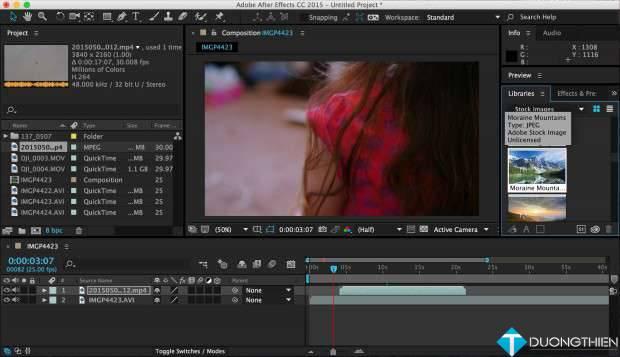 Dạy làm video after effect chuyên nghiệp tại Bắc Từ Liêm